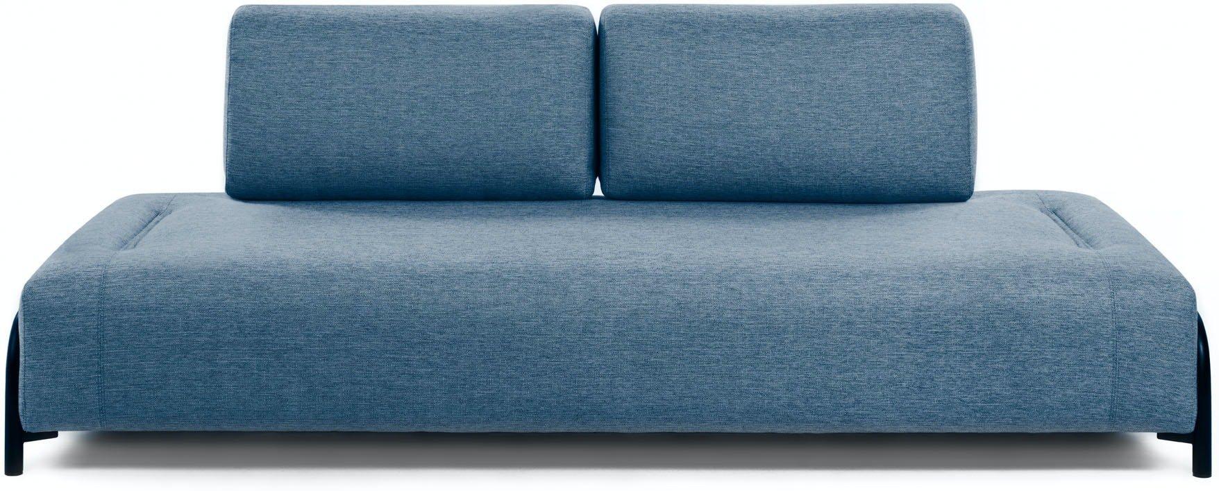 Compo, 3-personers sofa by LaForma (Uden armlæn, Blå)