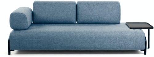 På billedet ser du variationen Compo, 3-personers sofa fra brandet LaForma i en størrelse H: 82 cm. B: 252 cm. L: 98 cm. i farven Blå