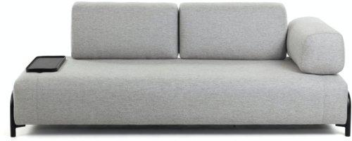 På billedet ser du variationen Compo, 3-personers sofa fra brandet LaForma i en størrelse H: 82 cm. B: 232 cm. L: 98 cm. i farven Grå