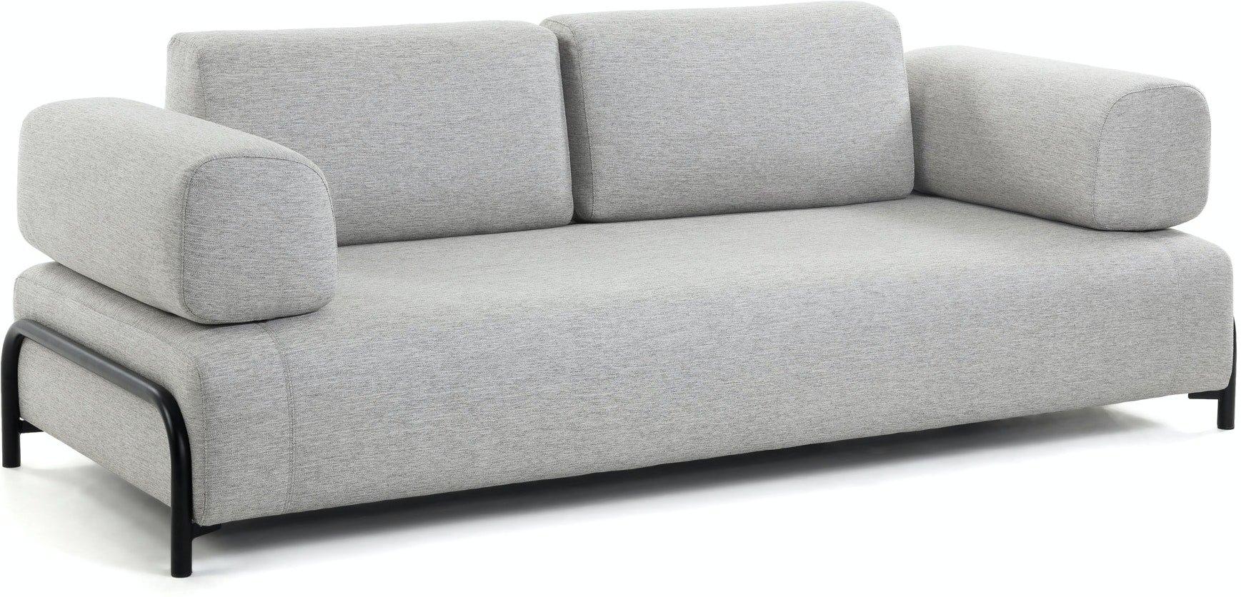 Compo, 3-personers sofa by LaForma (Armlæn v/h, Grå)