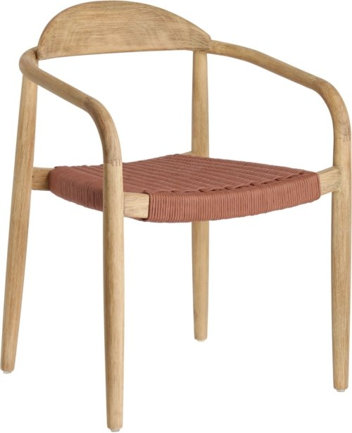 På billedet ser du variationen Nina, Spisebordsstol fra brandet LaForma i en størrelse H: 78 cm. B: 56 cm. L: 50 cm. i farven Lyserød