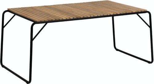 På billedet ser du variationen Yukari, Udendørs spisebord fra brandet LaForma i en størrelse H: 73 cm. B: 165 cm. L: 90 cm. i farven Natur/Sort