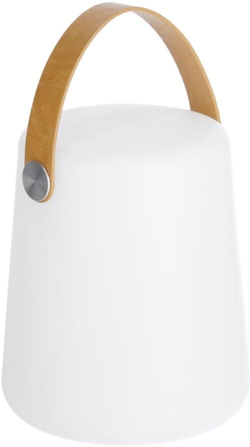 På billedet ser du variationen Dialma, Bordlampe fra brandet LaForma i en størrelse H: 28 cm. B: 17 cm. L: 17 cm. i farven Natur