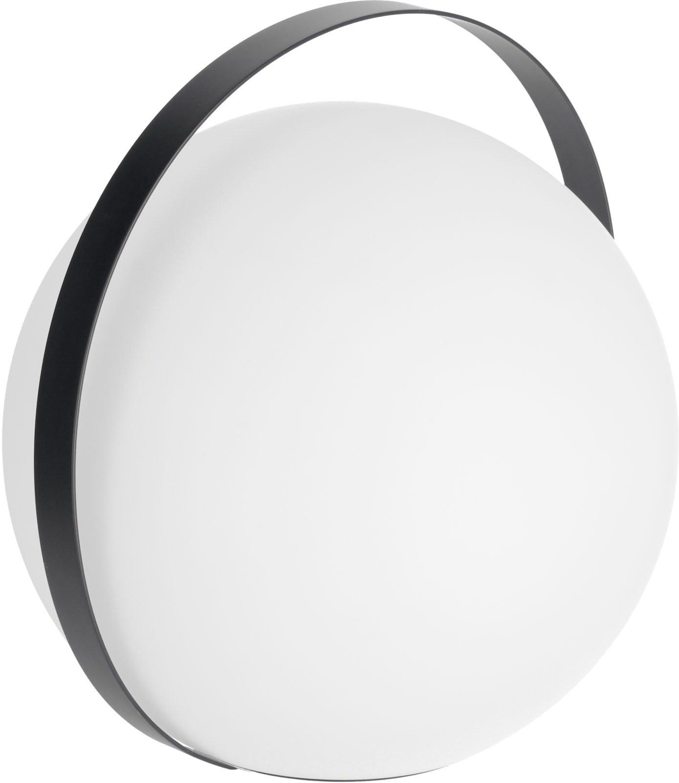 Køb Dinesh, Bordlampe med sort stålramme by LaForma (H: 33 cm. B: 34 cm. L: 30 cm., Sort)