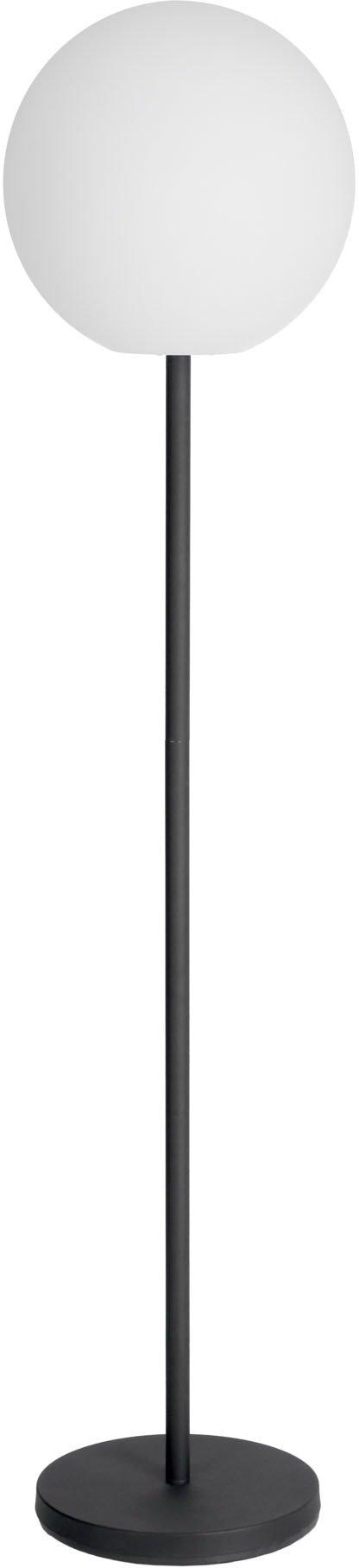 På billedet ser du variationen Dinesh, Gulvlampe fra brandet LaForma i en størrelse H: 155 cm. B: 35 cm. L: 35 cm. i farven Sort