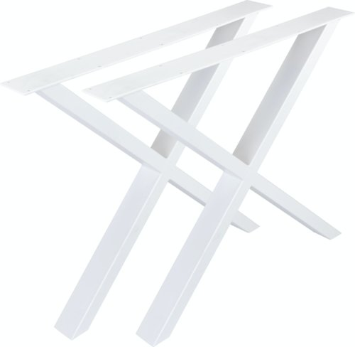 På billedet ser du variationen fra brandet Nielsen Design i en størrelse H: 71,5 cm. B: 75,5 cm. i farven Hvid