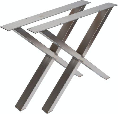 På billedet ser du variationen fra brandet Nielsen Design i en størrelse H: 71,5 cm. B: 75,5 cm. i farven Rustfrit stål