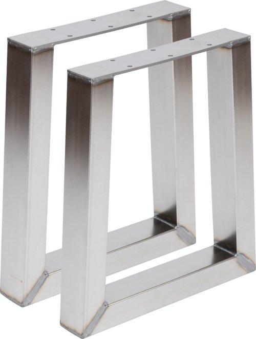 På billedet ser du variationen fra brandet Nielsen Design i en størrelse H: 40 cm. B: 35 cm. i farven Rustfrit stål