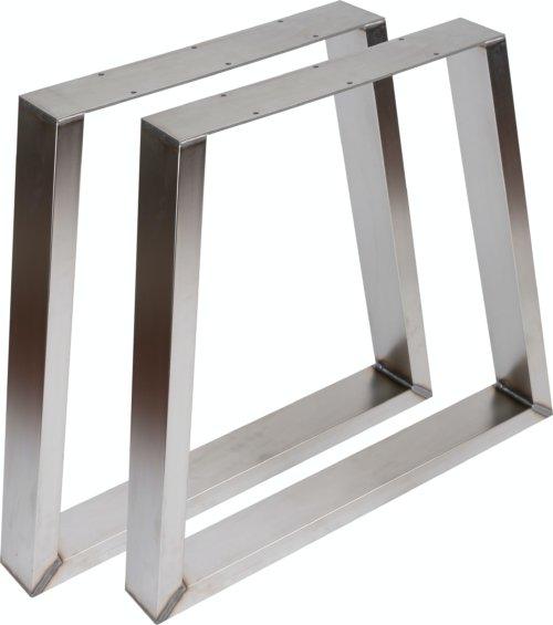 På billedet ser du variationen fra brandet Nielsen Design i en størrelse H: 72,5 cm. B: 80 cm. i farven Rustfrit stål