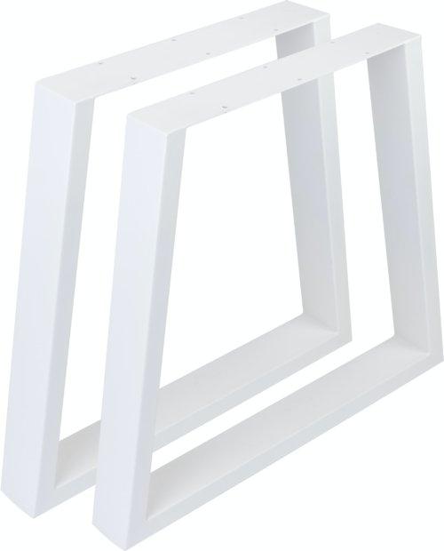 På billedet ser du variationen fra brandet Nielsen Design i en størrelse H: 72,5 cm. B: 80 cm. i farven Hvid