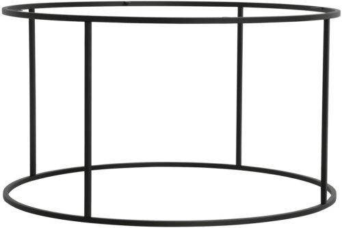 På billedet ser du variationen Rundt stel til sofaborde fra brandet House of Sander i en størrelse H: 45 cm. B: 80 cm. L: 80 cm. i farven Sort