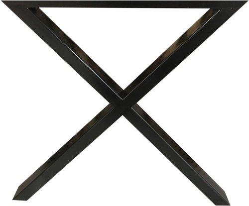 På billedet ser du variationen GX stel til udendørsbrug, Sort Galvaniseret fra brandet House of Sander i en størrelse H: 70,5 cm. B: 15 cm. L: 70 cm. i farven Sort