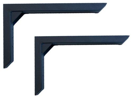 På billedet ser du variationen Lakes, Vægbeslag til barbord/skrivebord fra brandet House of Sander i en størrelse H: 25 cm. B: 6 cm. L: 40 cm. i farven Sort