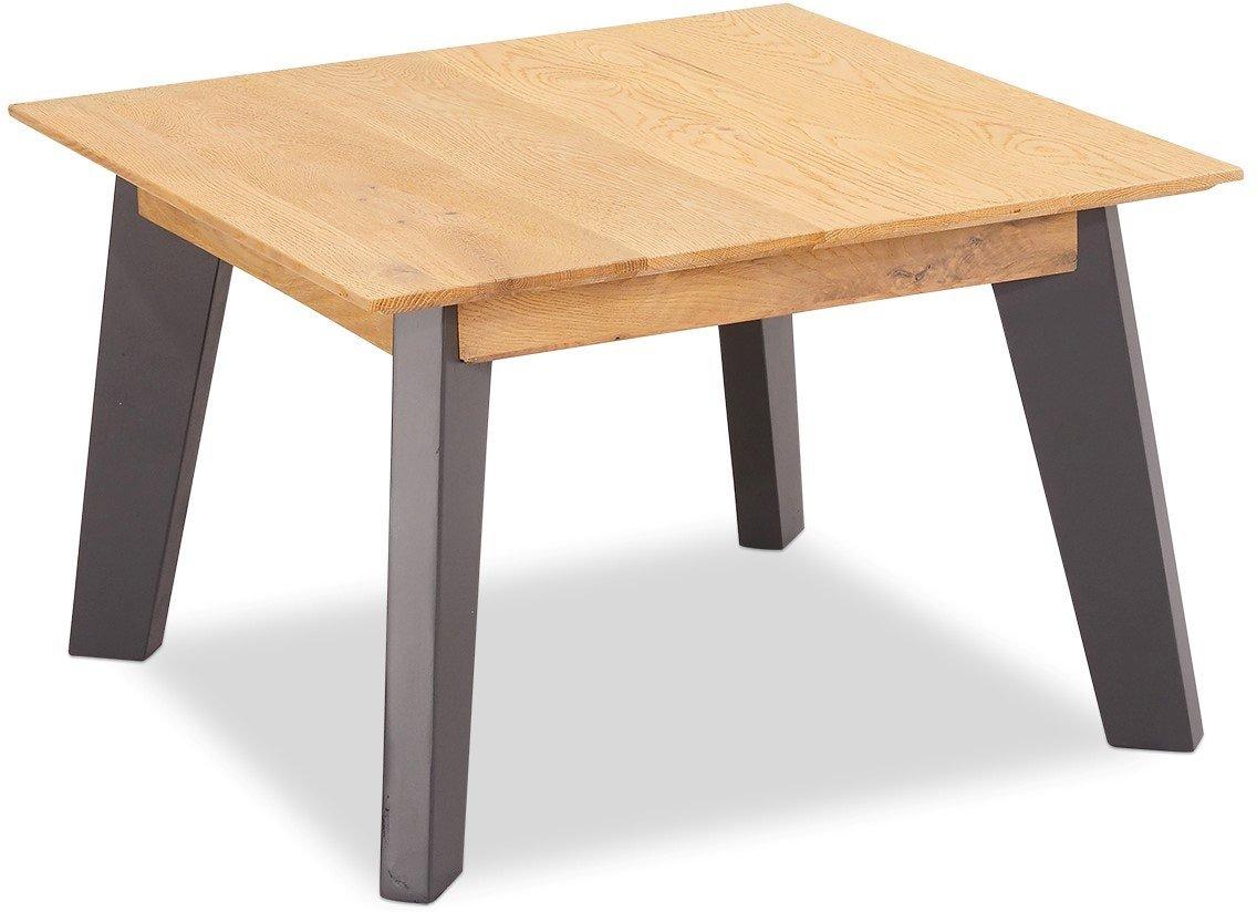 Eastgate, Hjørnebord, Egetræ by Raymond & Hallmark (H: 45 cm. B: 70 cm. L: 70 cm., Natur/Grå)