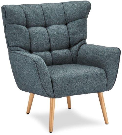 På billedet ser du variationen Wigtown, Lænestol, Stof fra brandet Raymond & Hallmark i en størrelse H: 97 cm. B: 83 cm. L: 86 cm. i farven Blå