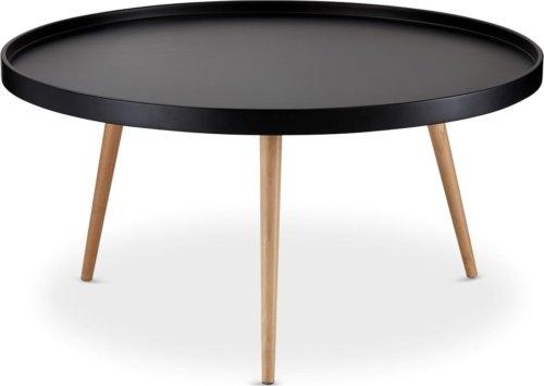På billedet ser du variationen Airton, Sofabord, rundt m. kant fra brandet Raymond & Hallmark i en størrelse H: 45 cm. B: 90 cm. L: 90 cm. i farven Sort