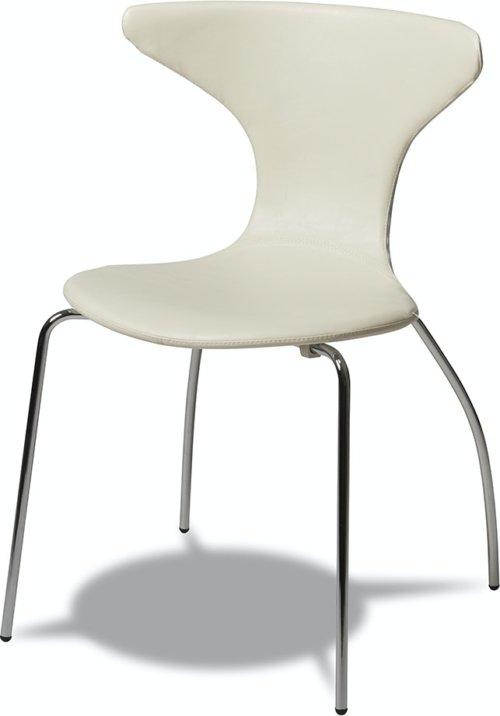 På billedet ser du variationen Ravenglass, Spisebordsstol fra brandet Raymond & Hallmark i en størrelse H: 86 cm. B: 56 cm. L: 53 cm. i farven Hvid