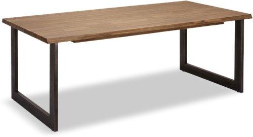 På billedet ser du variationen Straiton, Spisebord, Akacietræ fra brandet Raymond & Hallmark i en størrelse H: 75 cm. B: 200 cm. L: 100 cm. i farven Brun