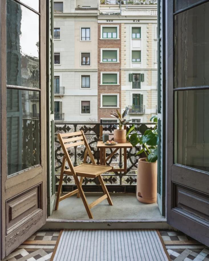 Indret en hyggelig terrasse