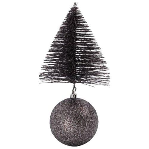 På billedet ser du variationen Julepynt, Tree & bell fra brandet House Doctor i en størrelse H: 23 cm. B: 12 cm. L: 12 cm. i farven Mahogni